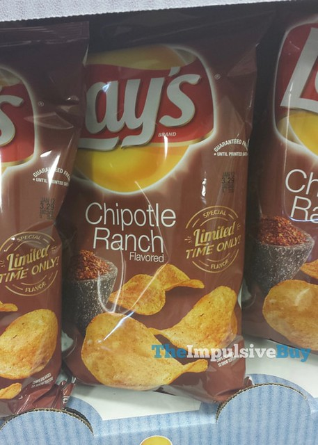 Lay's Limited Time Only Special Flavor Chipotle Ranch Potato Chips