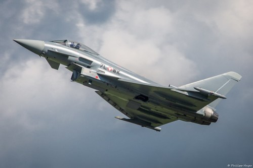 EF Typhoon at Airpower 2016
