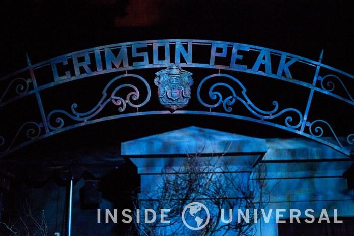 Crimson Peak - Halloween Horror Nights 2015 at Universal Studios Hollywood