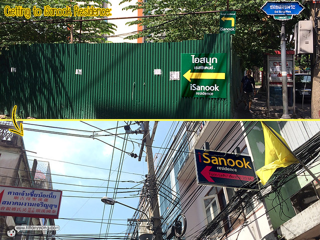 iSanook Residence Directions