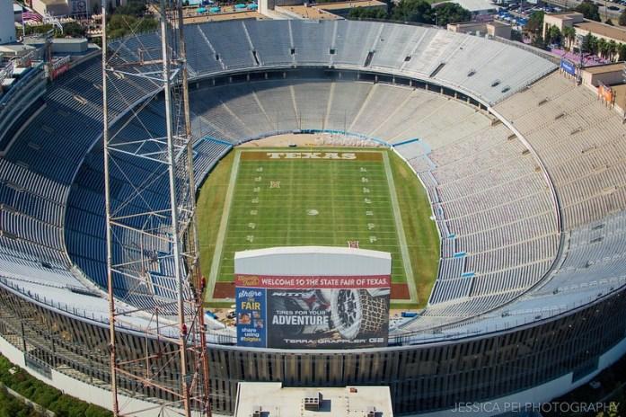 Cotton Bowl Top O Texas Ride