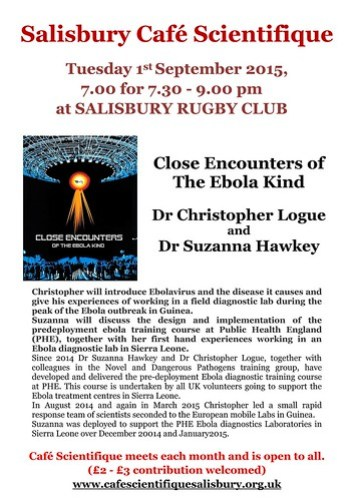 Close encounters of the Ebola kind