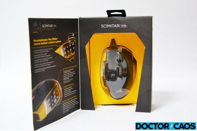 Corsair Scimitar RGB Gaming 12000 DPI (2)