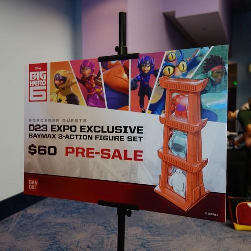 ソーサラーゲスト向けのBig Hero 6フィギュア予約。 #d23expo