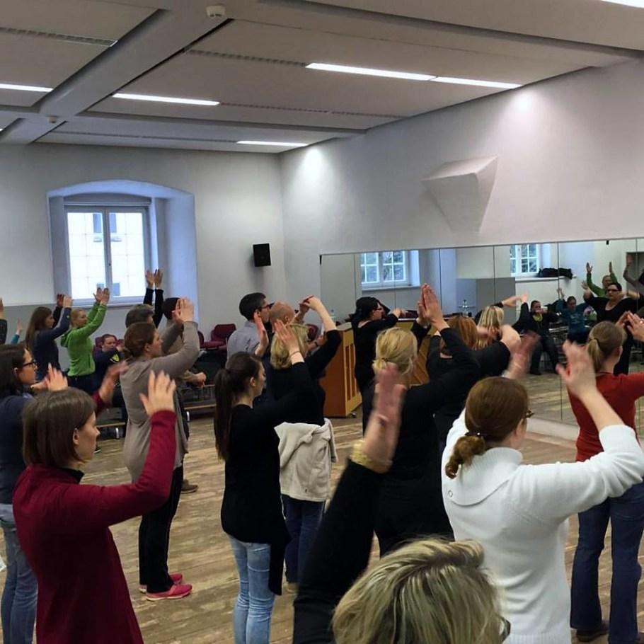 2016-02-19 Chorwochenende, Ochsenhausen, 19. Februar 2016