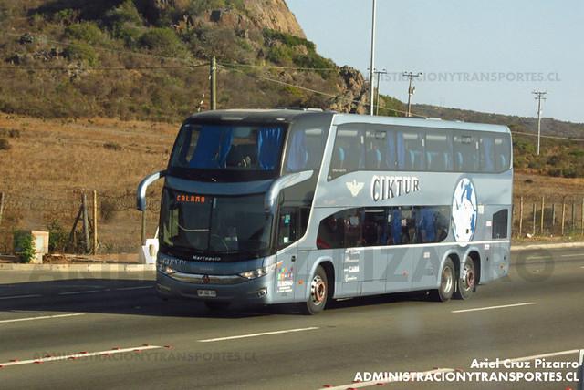 Ciktur - Pichidangui - Marcopolo Paradiso 1800 DD / Volvo (GFGZ70)