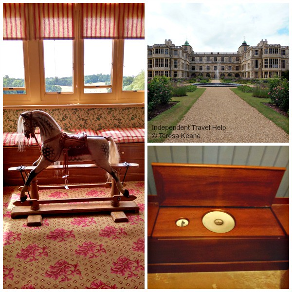 Audley End House collage