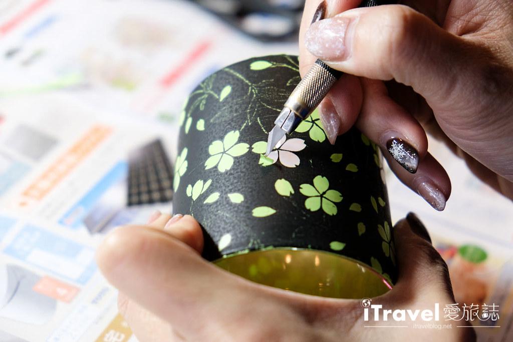 东京手作课程 喷砂玻璃工艺体验 45