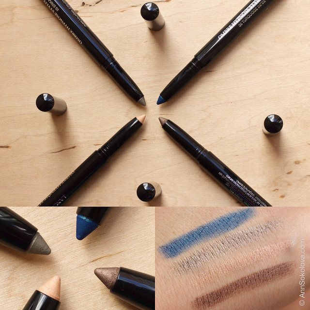Lancome Ombre Hypnose Stylo Eyeshadow swatches and review