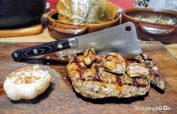 Krazy Garlic Steak