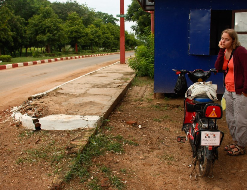 Lej en cykel i Bagan, Burma