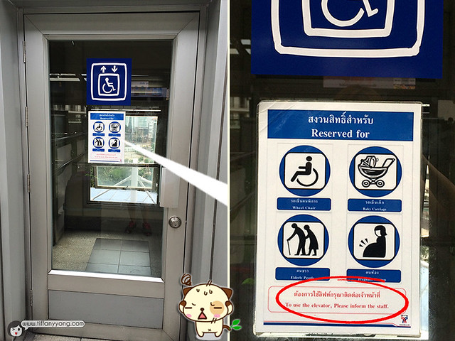 Thailand BTS Handicapped