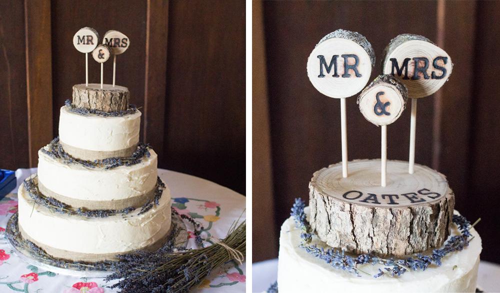 12 Wedding cake chrissy and dan