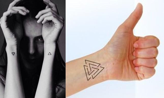Triángulo Hipster Significado