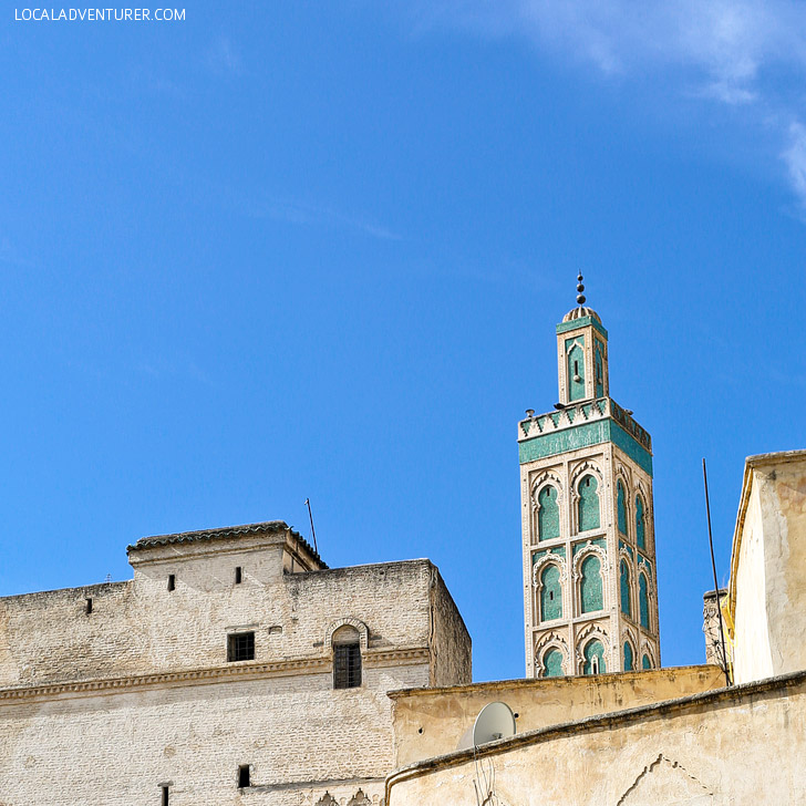 Medersa Bou Inania (21 Amazing Things to Do in Fes Morocco).