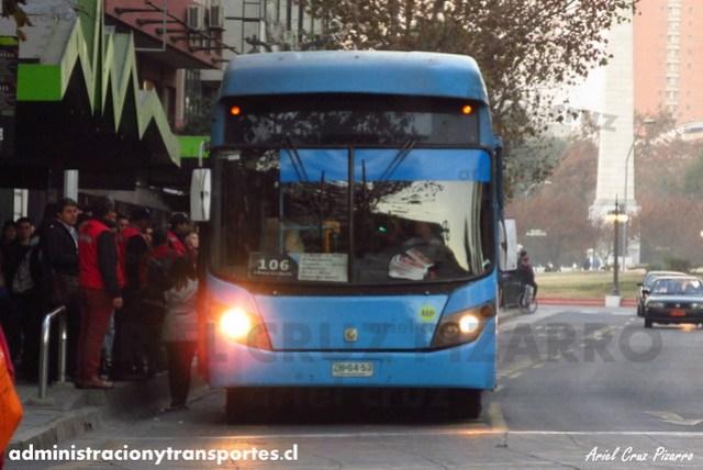 Transantiago - Inversiones Alsacia - Busscar Urbanuss / Volvo (ZN6453)