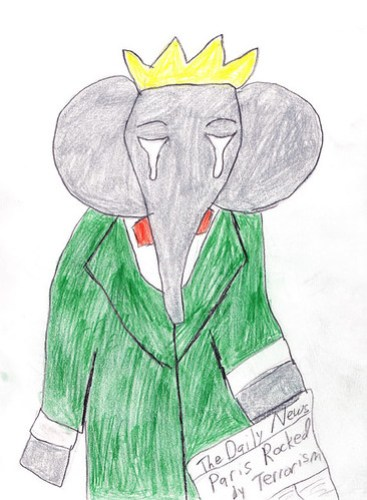 Babar the Elephant Crying