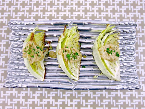 Cabbage Wedges with Dijon Onion Sauce
