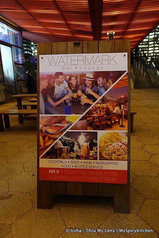 Watermark Bar, Pier 15, South Street Seaport, Oktoberfest 2015,