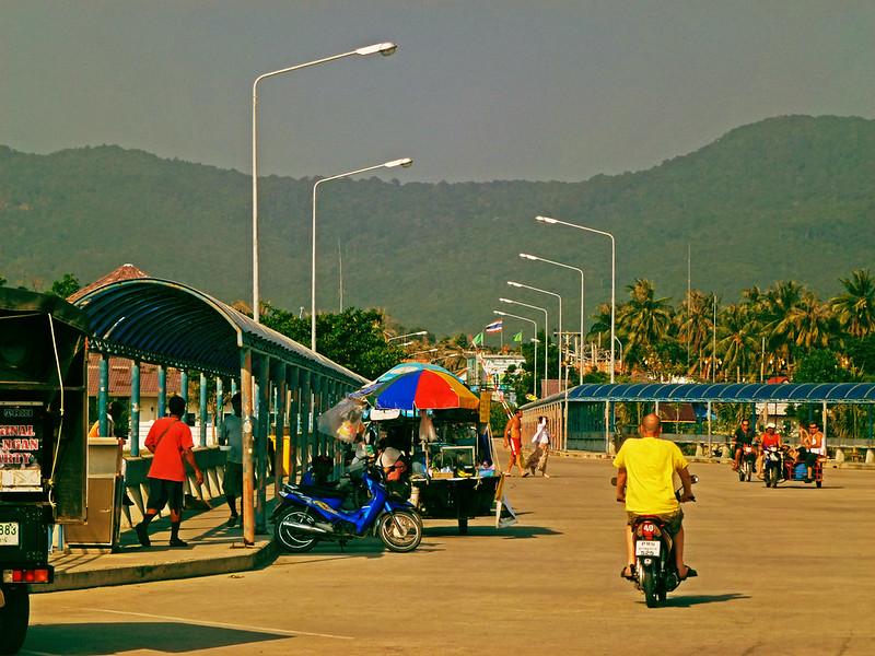 6 - Carnet de Thaïlande - 03 - Port de Thong Sala