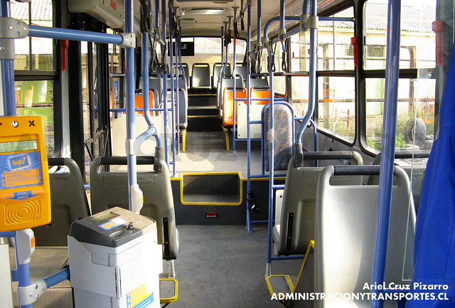 Transantiago - Unitran - Busscar Urbanuss Pluss - Mercedes Benz (BJFP42)