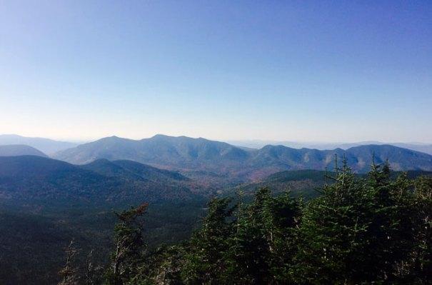 Mt Hancock Outlook View