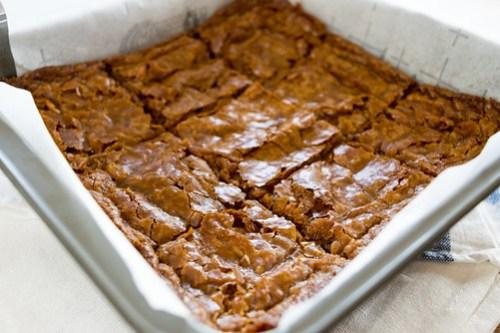 hot butterscotch squares