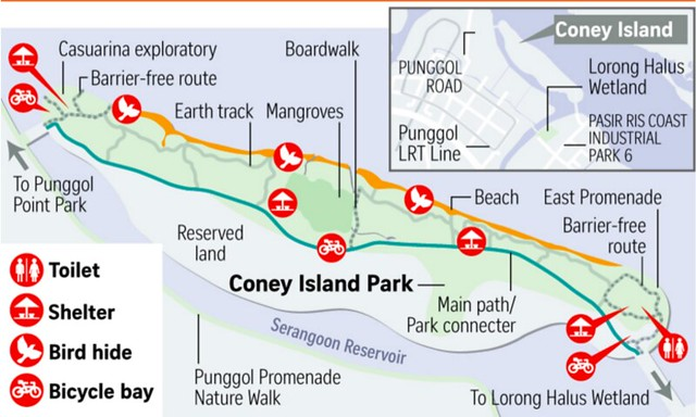Coney Island Map