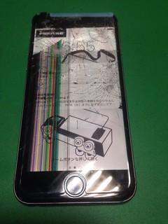 211_iPhone6のフロントパネル液晶割れ