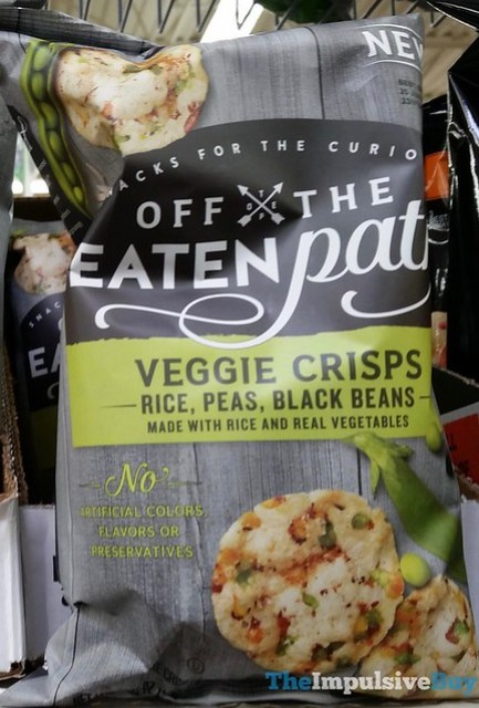 Off The Eaten Path Rice, Peas, Black Beans Veggie Crisps