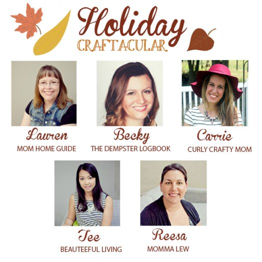 Holiday Craftacular link up for fall inspiration!