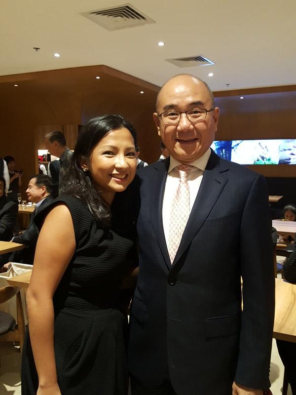 Eliza Antonio and Mr. Warren Yang