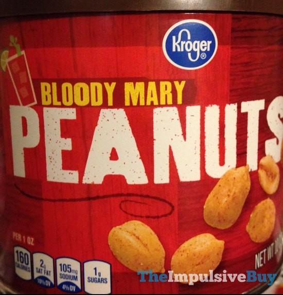 Kroger Bloody Mary Peanuts