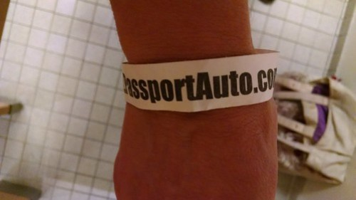 A Bracelet Certifying That I'm an Adult Entering Artomatic