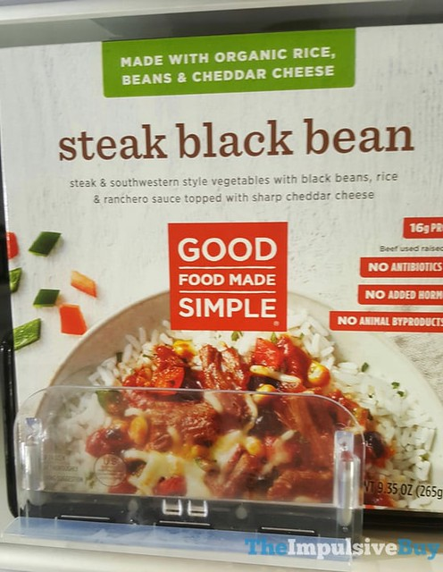 Good Food Made Simple Steak Black Bean