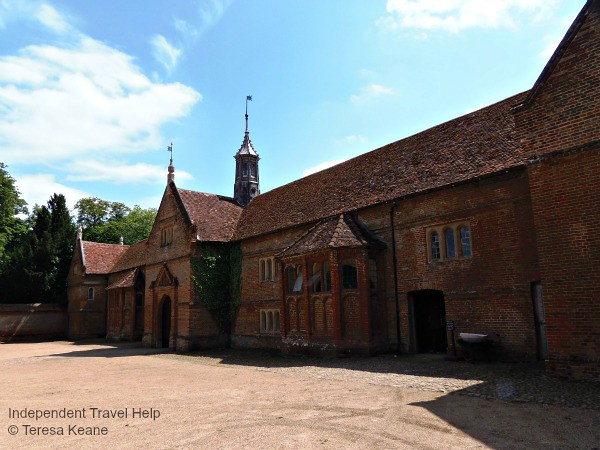 Fancy stables at Audley End House