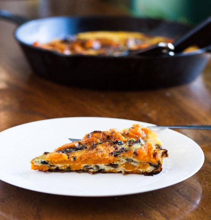 sweet potato frittata