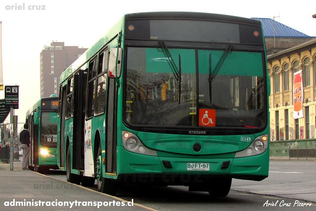 Transantiago - Buses Vule - Caio Mondego H / Mercedes Benz (BJFT57) (184)