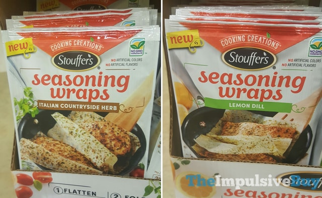 Stouffer's Seasoning Wraps Italian Countryside Herb and Lemon Dill