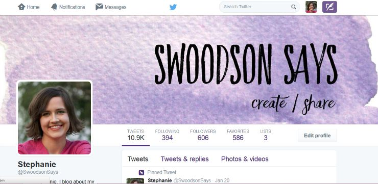 Swoodson Says Twitter
