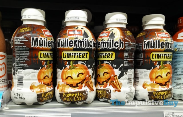 Mu?llermilch Pumpkin Spice Latte