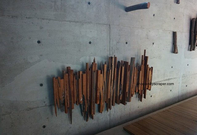 陶瓷博物館の壁
