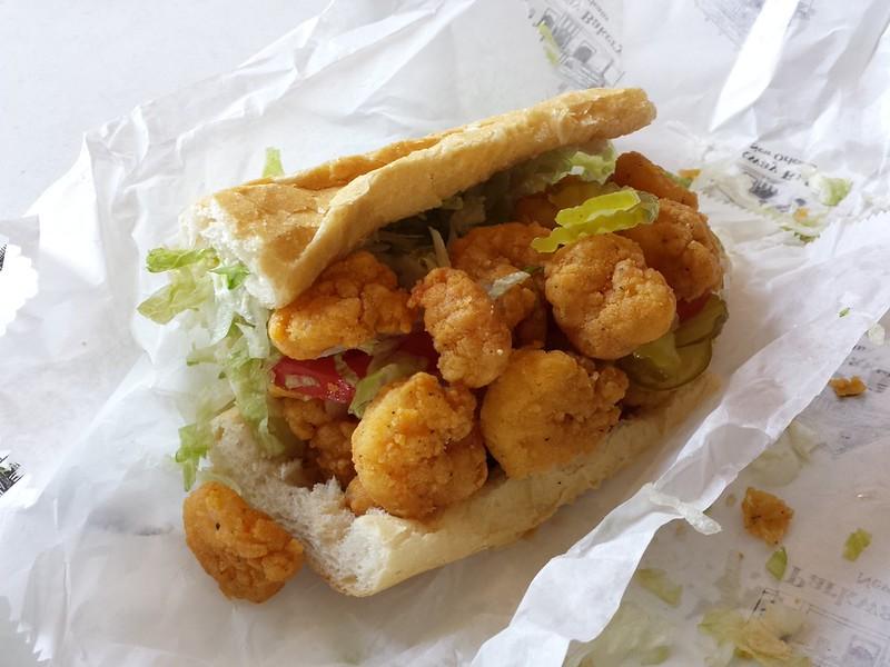 Parkway Bakery & Tavern's Fried Shrimps Po Boy
