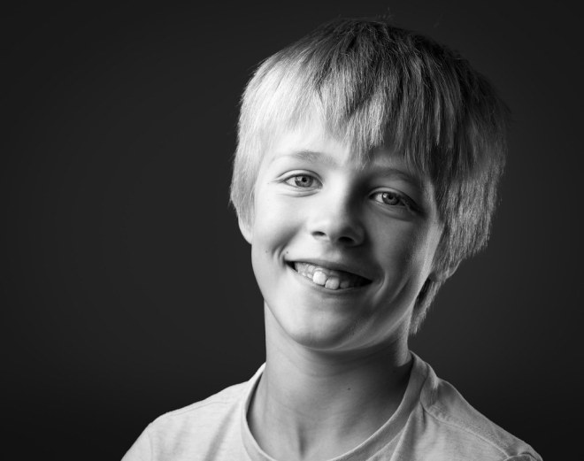 Oskar, 8yr. June 2016