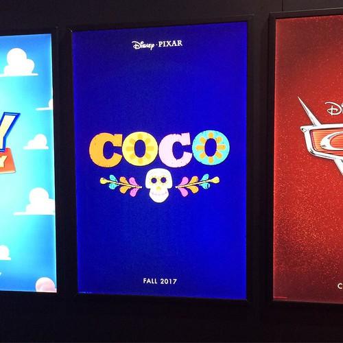 リー・アンクリッチによる、死者の日をテーマにした作品のタイトルが「COCO」に決定。講演ではクリップが一部公開。