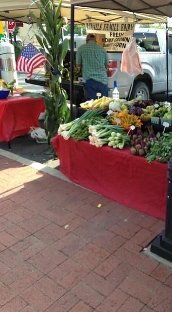 Farmer's Market, Bentonville AR
