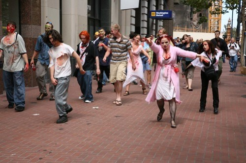 Zombies Invade San Francisco!
