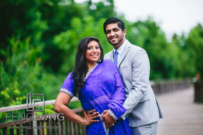 Saira & Ishaan | Piedmont Park & Jackson Street Bridge | Atlanta Ismaili Indian Wedding Photographer