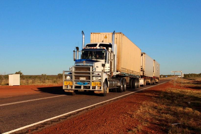 Road trains Australien