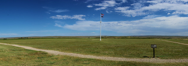Fort Fetterman parade ground, near Douglas, Wyoming, July 10, 2010